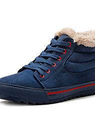 Insulated Men's Lace-up Leisure Ankle Winter Snow Boots