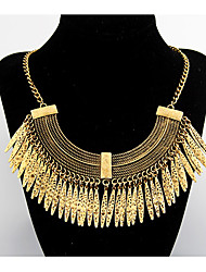 Women's Statement Necklaces Vintage Necklaces Alloy Drop Statement Jewelry Fashion Jewelry Party Daily