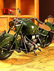 """14 """"Retro Style Moto Tipo Verde Metallo da collezione"""