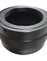 EMOLUX T mount T2 pour Micro 4/3 M4 / 3 M43 lentille  Monte Adaptateur  GX1 GH3 EPL5 EP3 OM-D T2-M43