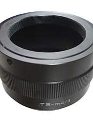 EMOLUX T2 T Крепление в Micro 4/3 M4 / 3 M43 Крепление объектива адаптер GX1 GH3 EPL5 ЕР3 OM-D T2-M43