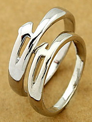 Silver Wedding Couple Ring(Random Size,A Pair) Promis rings for couples