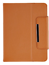 Fashion Design Protectiove Case with Stand for 8 Inch Tablet(Brown)