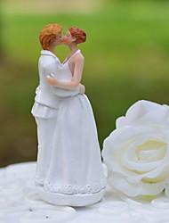 "primeros de la torta ""dulce beso"" torta figura de resina topper"