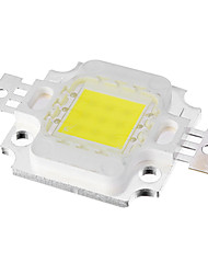 10W 9xIntegrate 700LM 10000K Cool White Luz LED Chip (DC 9-11V)