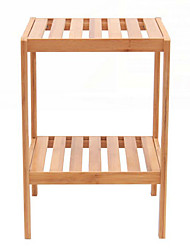 Classic 2 Levels Bamboo Storage Shelf
