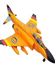 Lan Xiang F4 12CH 70mm EDF RC JET Plane RTF (Orange)