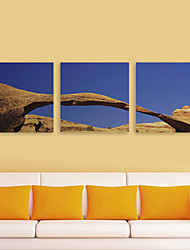 Toiles Tendues Paysage Art tactile Lot de 3