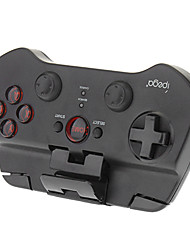 Drahtlose Bluetooth Game Pad Controller-Joystick für Android iOS iPhone iPad iPod (Schwarz)