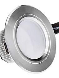 3W 3xHigh Мощность 270LM 6200K холодный белый свет светодиодный потолочный лампы - Серебряная гарантия (85-265В)