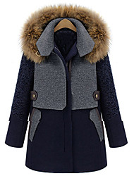 Sara-Wei épaississent Long / Manteau moyen (écran couleur)