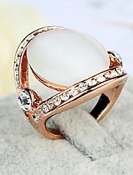 ME Artificial Opal Rhine Stone  Ring(NJ01976)