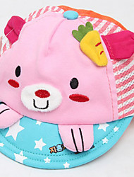Kid's Cartoon Kitted Embroidery Cap