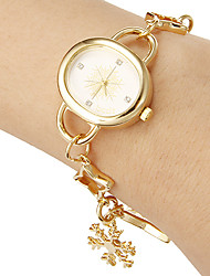 Damen Quartz Band Gold