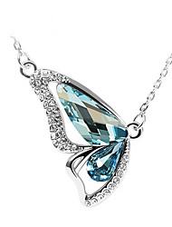 Collier de diamant Honeybaby papillon