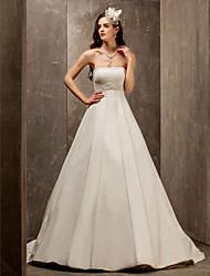 Lanting Bride® A-Linie / Prinzessin Rechteck / Stehendes Dreieck / Extraklein / Birne / Sanduhr / Übergrößen / Fehlend Hochzeitskleid -