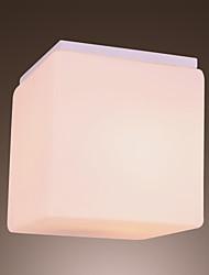 60W Modern Montagem Embutida artístico com geométrica Recurso Sombra Cubic