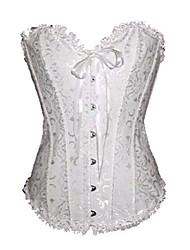 tissu de plastique shapewear désossage corset (plus de couleurs) lingerie sexy shaper