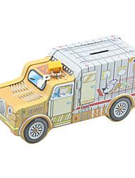 Tirelire Transport de voitures de bande dessinée