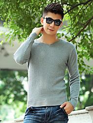 Men's Sweaters , Cotton Casual YiRANCP