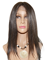20inch Beautiful Water Wave Indian Remy Hair Lace Front Wig