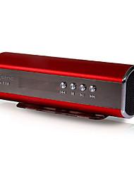 Mini altavoz elegante portátil SENIC SN-139 con la ranura para tarjeta del TF y FM