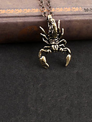 King of Scorpion Alloy Gothic Lolita Necklace