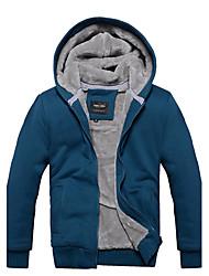 Aoriwei Men'sBlue Fur Simples Cap velo