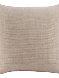 """18 """"Squard solide Tweed Polyester coussin décoratif avec insert"""