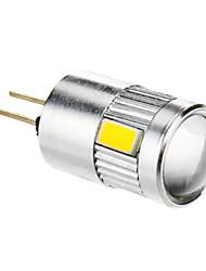 4W G4 LED a pannocchia T 6 SMD 5730 280 lm Bianco caldo DC 12 V