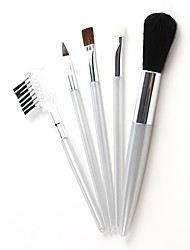 5pcs MINI Travel Makeup Brush Set