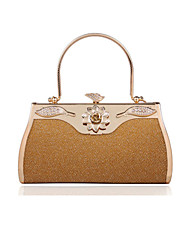 Leatherette Wedding/Party Evening Handbags/Top Handle Bags With Flower