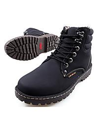 British Fashion Style altos zapatos Tendencia punto para hombres (Negro)