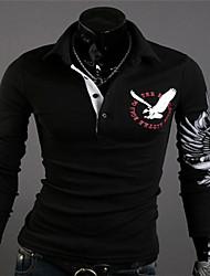Men's Casual Shirts , Cotton Blend OTTF