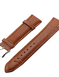 Unisex 22 millimetri Leather Watch Band (colori assortiti)
