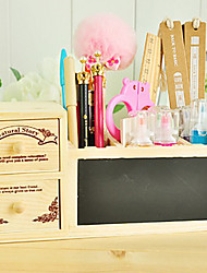 Modern Creative Mini Desktop Wood Storage Box