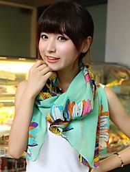 Alin-kiss Fashion Chiffon Scarf(SJ026)