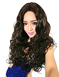 25.59 Inch 100% Kanekalon Big Waves Long Wigs