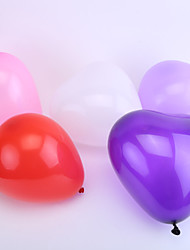Wedding Décor Heart Ballon - Set of 50 (More Colors)