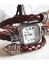 Meizhilan Vintage Snake Shape Bracelet Watch