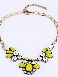 Women's Vintage Leaves Necklace