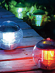Solar Power Changing Color LED Floating Light Ball Lake Pond Pool Lamp (CIS-57230)