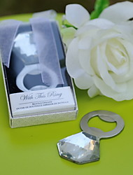 Stainless Steel/Crystal Bottle Favor Bottle Openers Classic Theme Non-personalised Silver