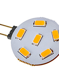 3W G4 Lâmpadas de Foco de LED 6 SMD 5730 120-150 lm Branco Quente / Branco Frio DC 12 / AC 12 V