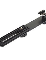 Suporte de metal suporte suporte para o Flash Speedlight (Black)