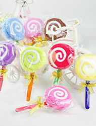 Lollipop asciugamani Shaped - Set di 6 (colore casuale)
