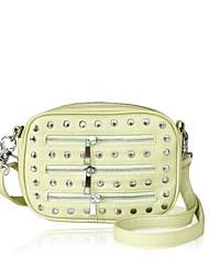 Mignon Zipper Vintage Rivet Sac bandoulière de Maxhope femmes