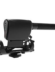 NA-Q7 Nonsha Noir Micro stéréo pour DV DSLR