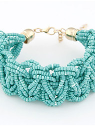 Women's Hand Made Knit Bracelet