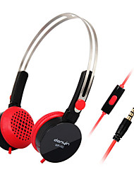 DANYIN WP-182 Stereo Over-Ear Headphone with Mic and Remote for PC/iPhone/iPad/Samsung/iPod